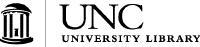 UNC University Library black and white logo