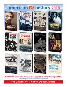 UNC Press American History 2018