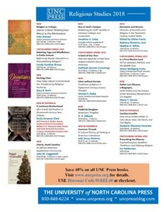 UNC Press Religious Studies 2018