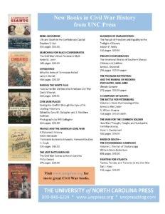 Civil War History Flyer 2019