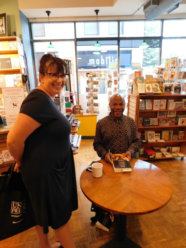 Patrick Johnson signing at Malaprop's in Asheville.
