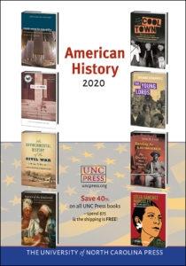 UNC Press American History 2020